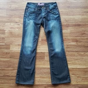 RF Rock for Express Size 10 Boot Cut Jeans